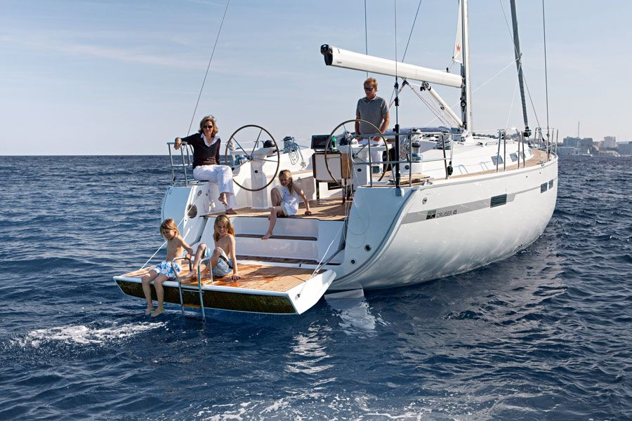 Sailing and yacht charter in Croatia on Bavaria 45 Cruiser Fair Wind