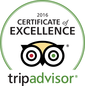TripAdvisors Certificate of Excellence