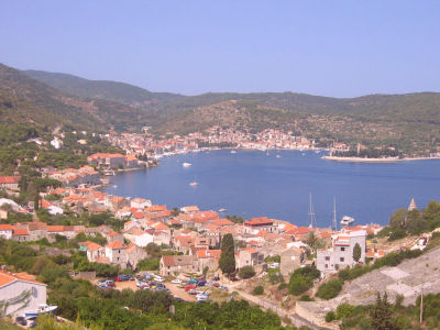 Vis Bay Croatia