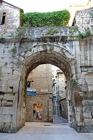 Diocletian palace golden gate