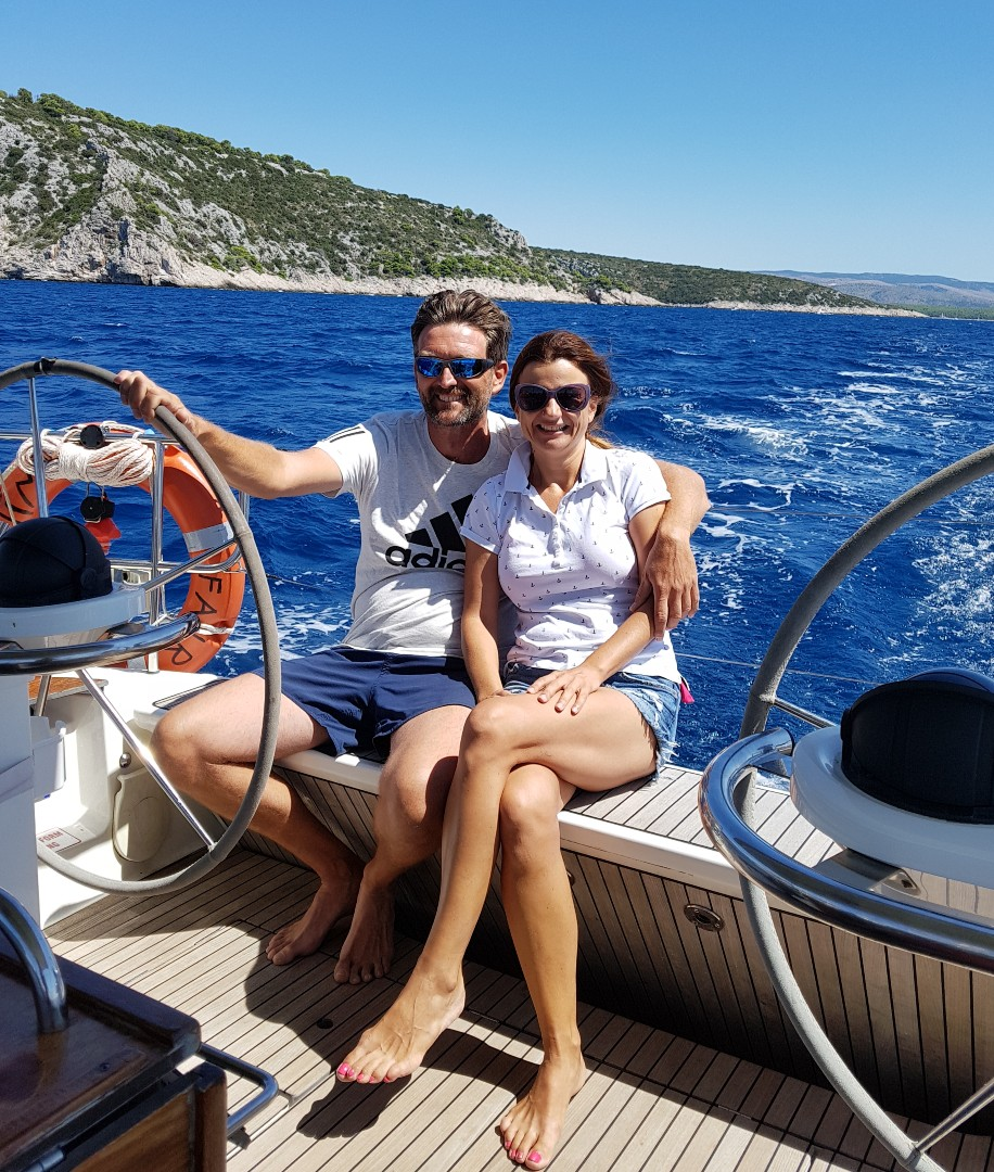 Ivana & Paško Kovačić, the owners of Fair Wind Yacht Charter Company