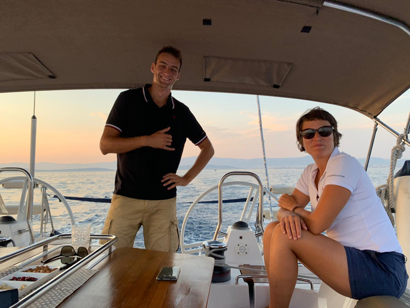Bepo & Glora - Skipper and hostess for crewed yacht charter in Croatia