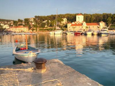 Maslinica on the island of Šolta