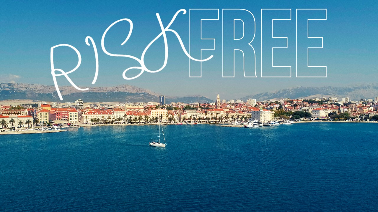 Sailing in Croatia is risk free